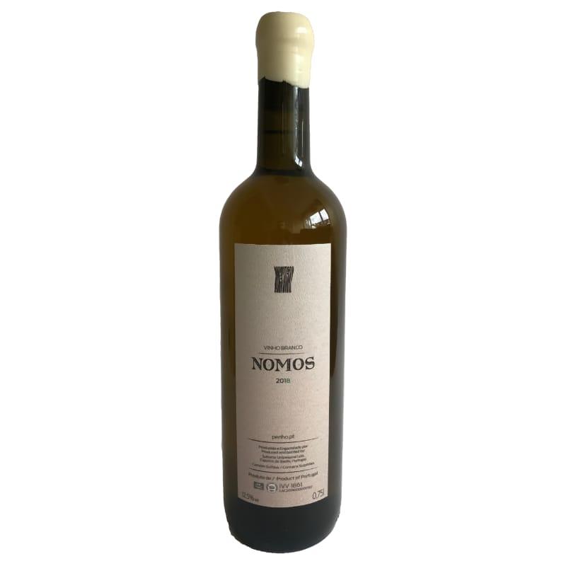 Nomos dry white wine 2018 Alvarinho trajadura. Adega Penho Vinho Verde Portugal